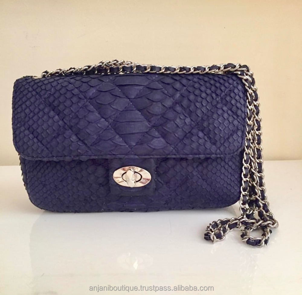 Brand New Hot Classic Handbag Python Bag