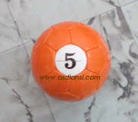 16 balls pool soccer ball table billiard footballs snookball set poolball