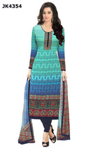 Indian Ethnic Wear Suits Dress Materials / Free Size Unstitched Shalwar Kameez / Ladies Casual Wear Straight Fancy Design Suits