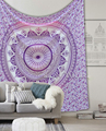 Mandala Star Wall Hanging Tapestry Indian Bohemian Queen Bedspread Beach Blanket Indian Gift