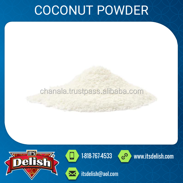 Pure and Natural White Dessicated Coconut Powder Available for Sale