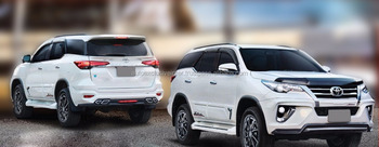 fortuner body kit
