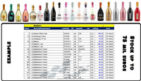 BRANDED SPIRITS WHISKEY - VODKA - COGNAC - GIN - BEER - BURBON - HENNESSEY ON STOCK