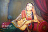 Handmade Jaipur Rajasthan Indian Art Gallery Oil Canvas Painting