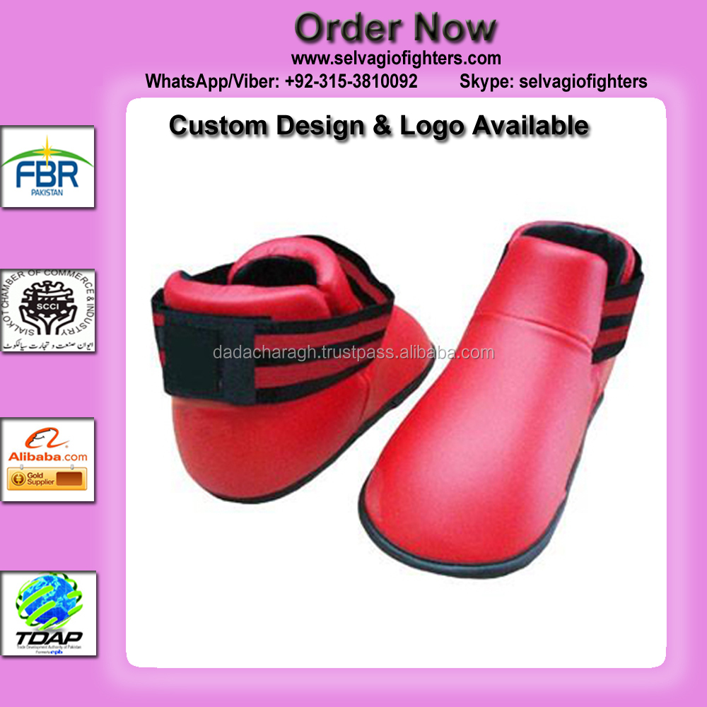 KARATE SHOES RED COLOR TOP TEN KARATE SHOES SEMI CONTACT KARATE SHOES FOR FIGHT OR TRAINING