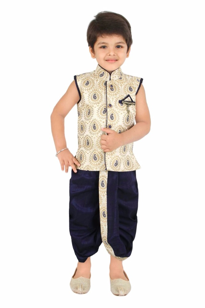 Black&white checked kurta