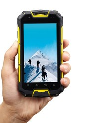 walkie talkie smartphone with PTT quad core MTK6589 smartphone waterproof original SNOPOW M8