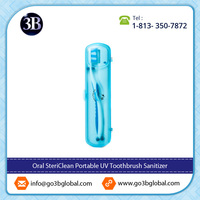 FDA Medical Device | Oral Stericlean PORTABLE UV Light Toothbrush Sanitizer