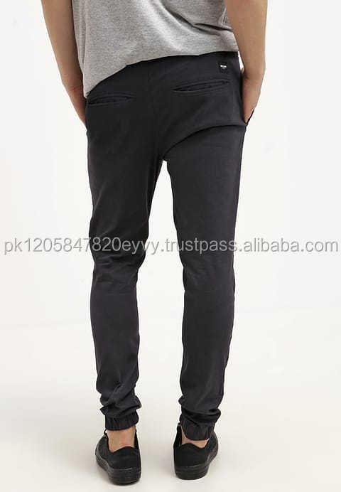 Mens Simple Striped Stylish Long Pants Mid Rised Casual Cotton Trousers