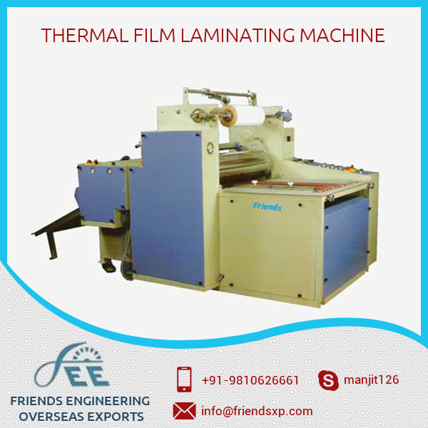 Dry and Wet Thermal Film Laminating Machines for Various Industry at Best Price