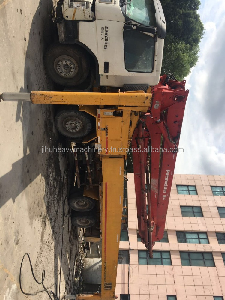 Used/second hand putzmeister concrete pump price (45meters)
