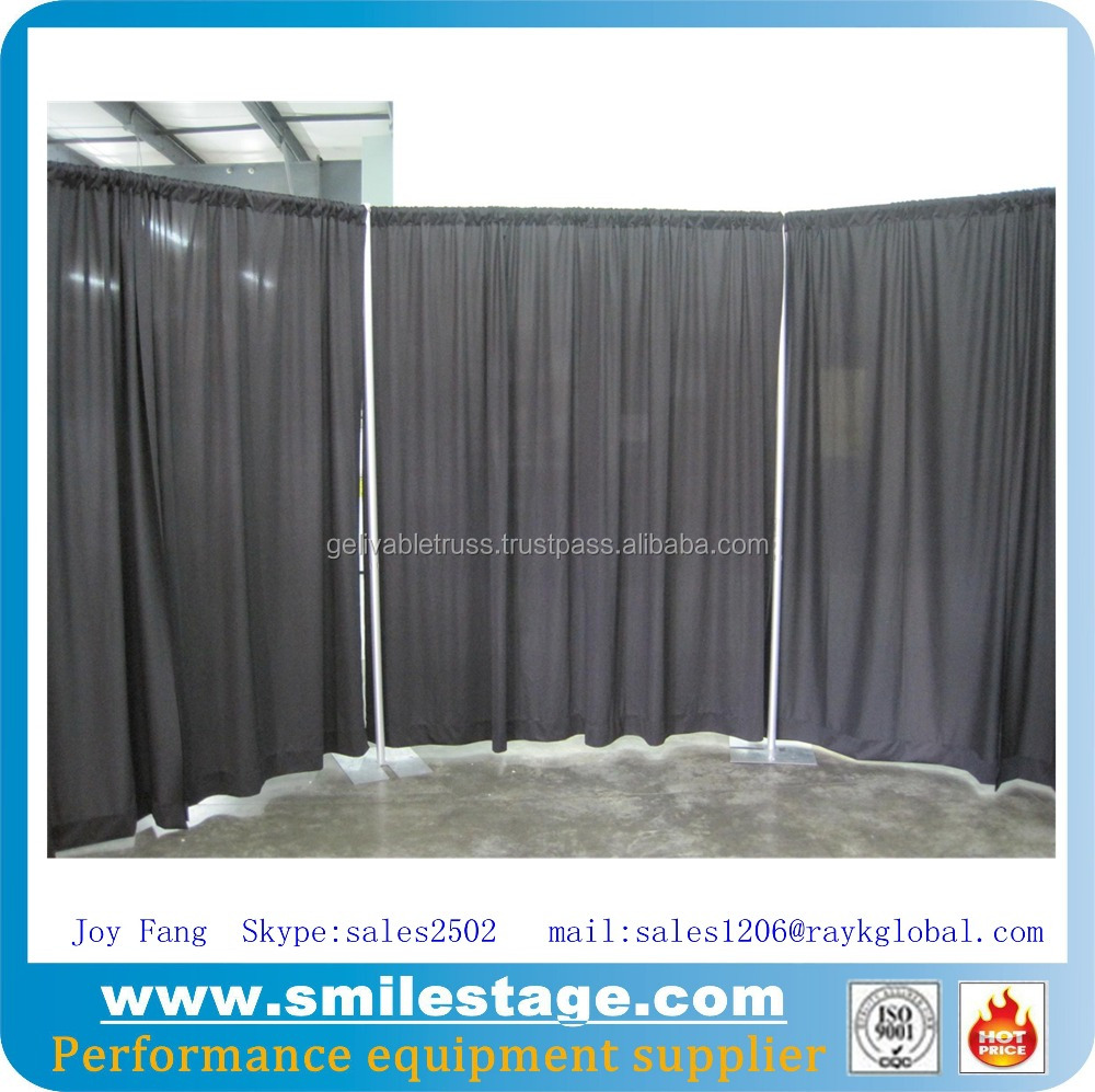 fabric backdrop stands for exhibition booth and stall