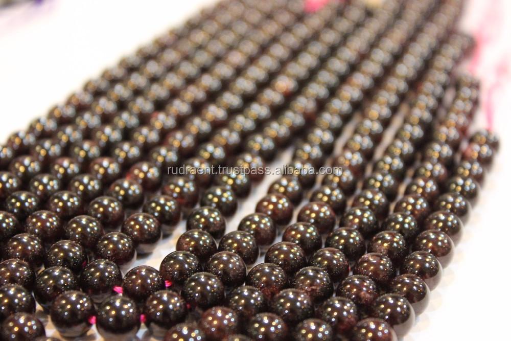 Limpar Quartz Gemstone Contas Redondas Soltas Para Fazer Jóias, DIY Grânulos de Gemstone para o Colar, pulseira