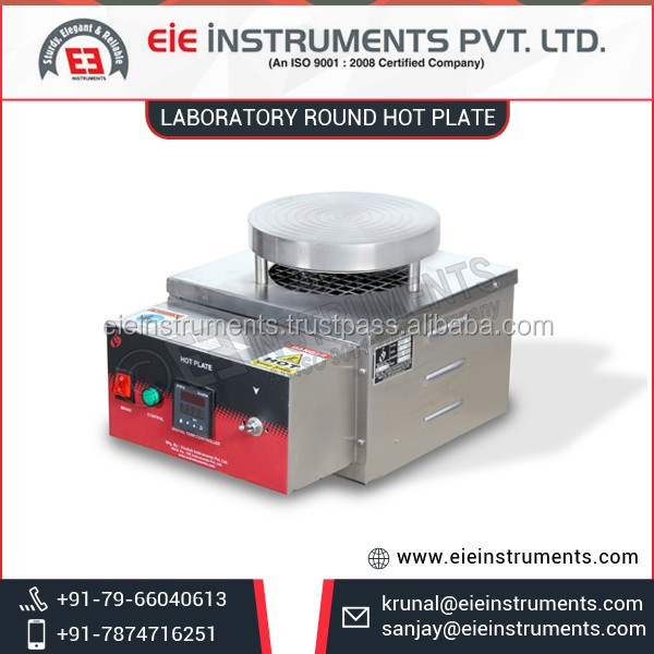 Thick PCRC Sheet Coated Laboratory Hot Plate for Laboratory Equipments