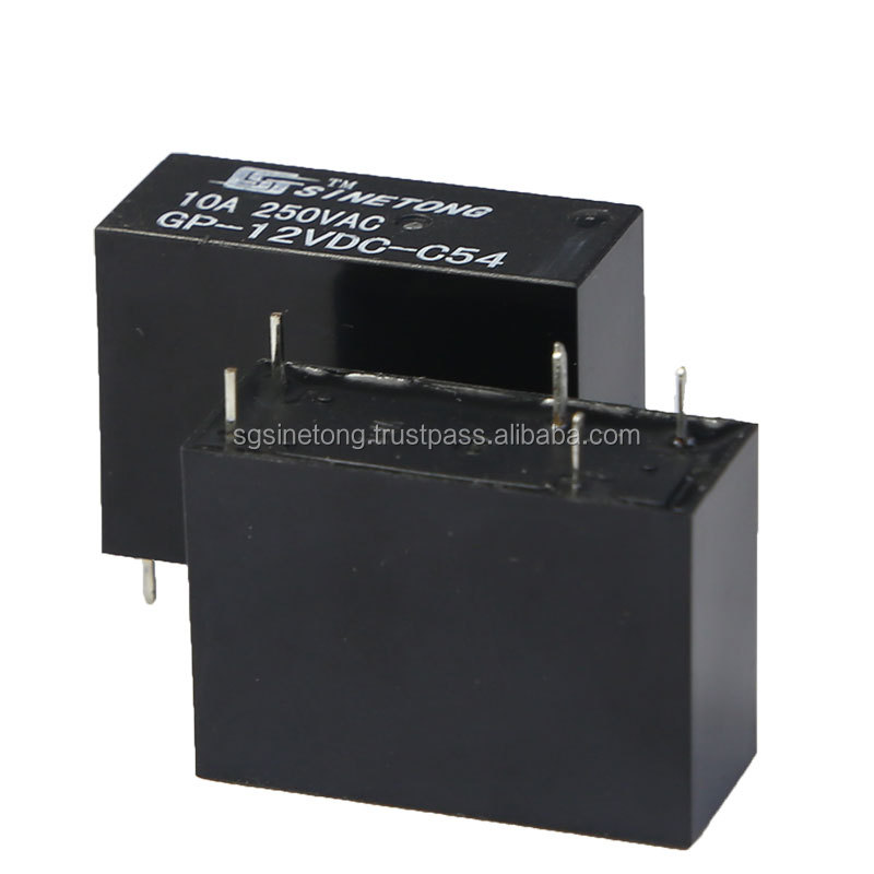GP 12V 5pins dc motor controller relay with UL,CQC,TUV