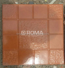 Pvc paver tiles mold mould for coobal effect floor tiles
