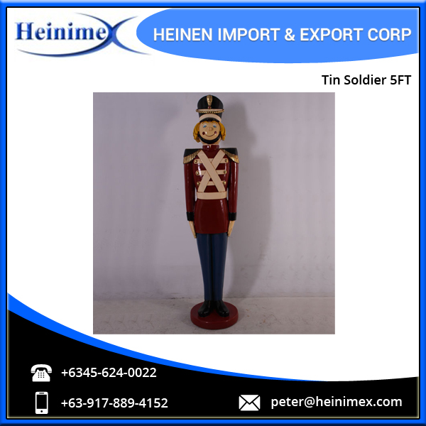 2016 Wholesale Christmas Nutcracker Tin Soldier 5ft