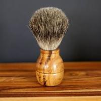 self cleaning hair brush shaving wooden hendle shaving Brush