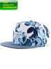 Flower Design Fashion Plain Headwear Sport Panel Snap back Screen Printed Cotton Embroidered Quality Cap Hat Custom OEM #2