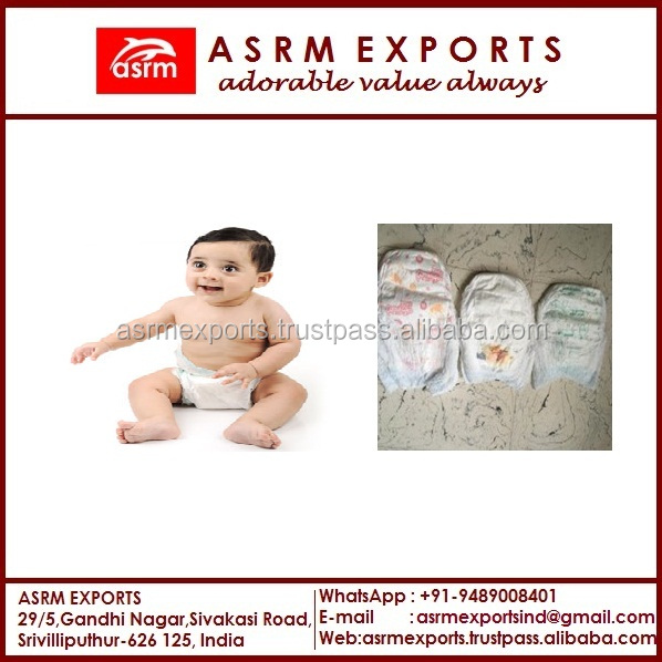 High Quality Own Brand Disposable Baby Diaper Manufacturer