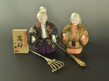 Japanese traditional doll for souvenir or commerating item for new couples looking for distributor in Malaysia gift set