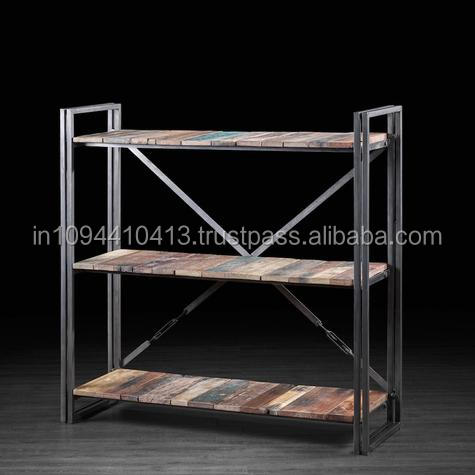 Industrial Reclaimed vintage book case