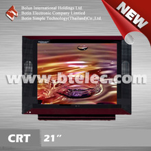 B grade black and red hotel 21inch television set