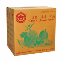 Thailand best selling freeze dried Mangosteen 50 g tin can- Thai Ao Chi Brand - Dry fruit Snack