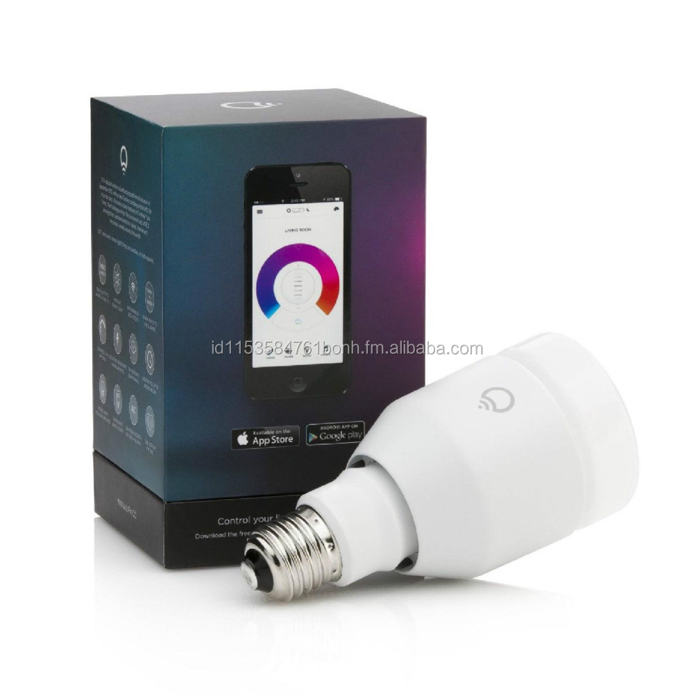 LIFX The Original WiFi Smart LED Light Bulb BUL11A21E27W iOS & Android E27 White