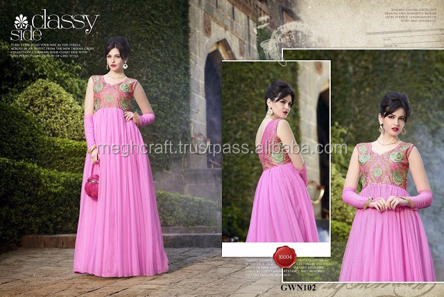 2015 latest design ladies long evening party wear gown-Wholesale long net gowns