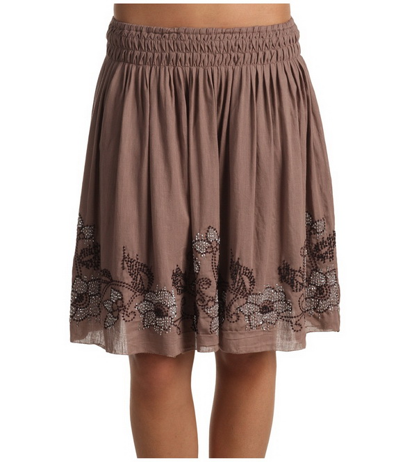 Short sexy cotton skirts for women