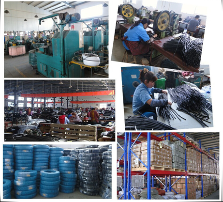 motorcycle cable throttle cable hebei junsheng factory cable factory