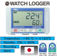 High-grade humidity and temperature control system with data logger, made in Japan