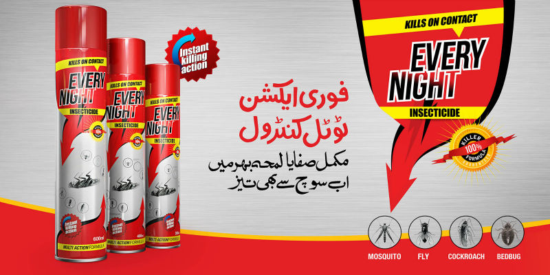 Every Night Aerosol Insecticides