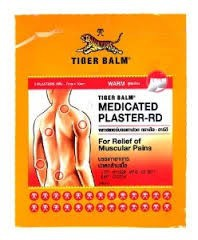 Tiger plaster pain relived warm 7x10 CM