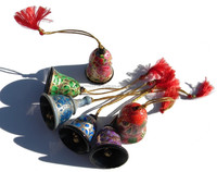 christmas bell decoration, felt christmas decoration, american christmas decoration in assorted designs