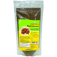 Herbal Hemidesmus Indicus / Anantamool Root Churna for Healthy Skin 100 gms