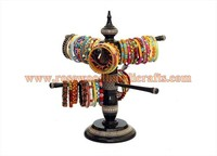 Wooden Bangle Stand,Wooden Handicrafts,Rosewood Bangle stand