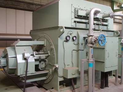USED STEAM TURBINE GENERATOR