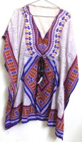 New Wholesale lot Batwing Sleeves printed Kaftan Women's Tunic Caftans Tribal Prints Tops