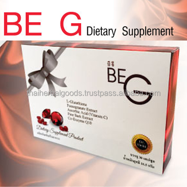 Skin Lightening Supplement of Glutathione