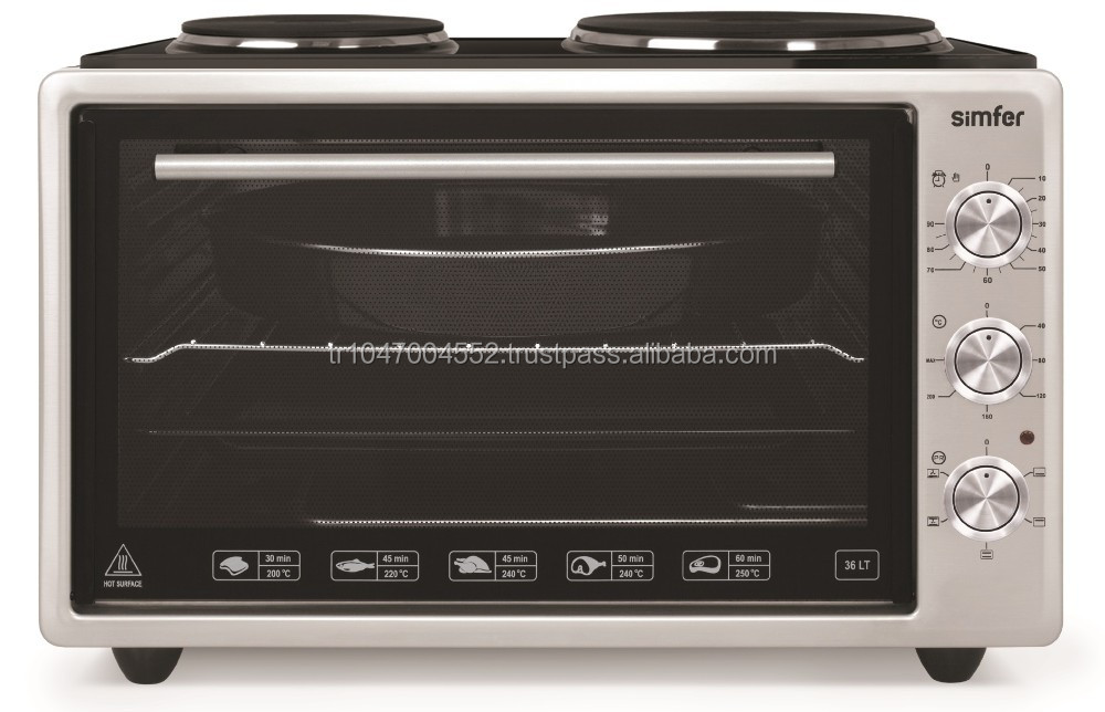 Simfer 36lt. Hot Plate Electric Oven