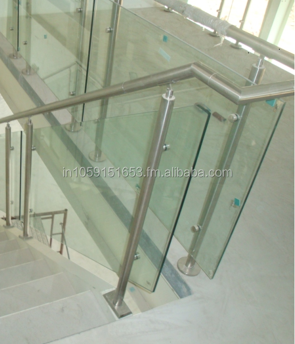 Stainless steel 316/304 Grade Handrail and Balustrade system