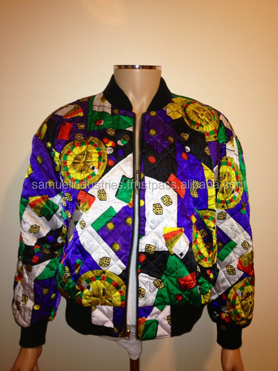 Quilted print silk bomber jacket\game printed custom soft shell bomber life jacket\2016 all over sublimation print bomber jacket