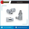 Stainless Stell Made High Pressure Pipe Joints Right Hand Brass Swivel Joint at low cost