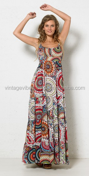 Indian 100% Cotton Printed Dress