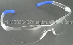 Safety Spectacles - OSLO 9318 White Frame with Blue End (Temple)