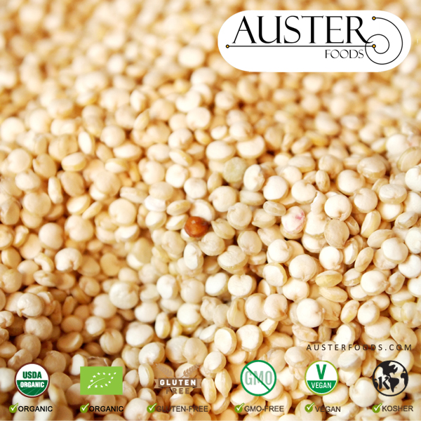 Organic Royal Quinoa (Pallet orders delivered overseas)