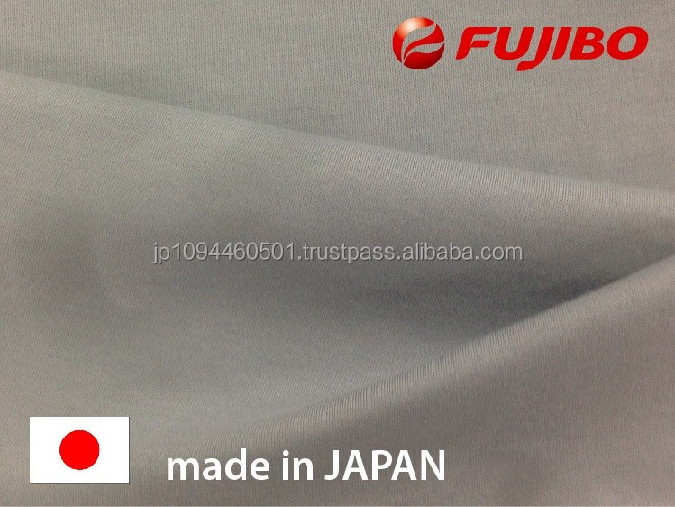Original and Fashionable variegated fabric with moist and fine hand touch made in Japan