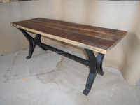 Industrial style Furniture wholesale Latest Mango Wooden Industrial Furniture Design 2015